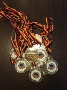 Medaillen Deutschlandturnier 2019